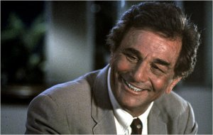 Peter Falk, from the New York Times