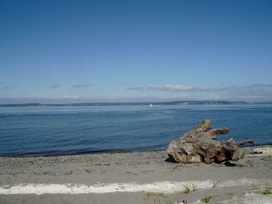 puget sound and the beach