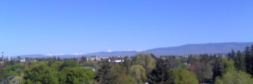 Kittitas Valley in the summer