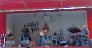 Cody Beebe and the Crooks at the Kittitas County Fair