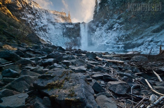 A photo taken at Snoqualmie this winter.