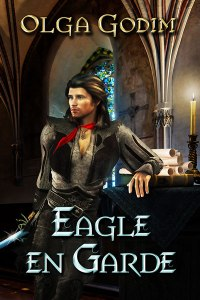 Cover and link to Eagle En Garde by Olga Godim