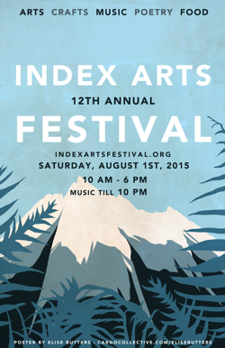 Index Arts Festival 2015 poster